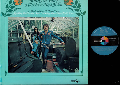 Sonny & Cher-All I Ever Need Is You-VINYL LP-USED-Aussie press-LP_1198