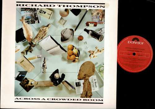 Richard Thompson-Across A Crowded Room-VINYL LP-USED-Aussie press-LP_1211