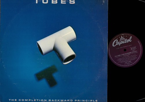 The Tubes-The Completion Backward Principle-VINYL LP-USED-Aussie press-LP_1217