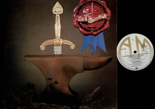 Rick Wakeman-The Myths And Legends Of King Arthur And The Knights Of The Round Table-VINYL LP-USED-UK press-LP_1219