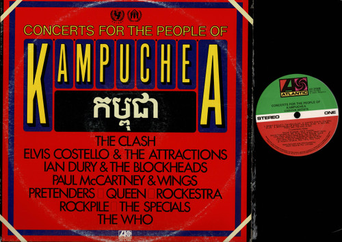 Various-Concerts For The People Of Kampuchea-VINYL LP-USED-Aussie press-LP_1225