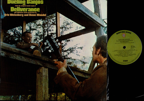 Eric Weissberg And Steve Mandell-Dueling Banjos From The Original Motion Picture Sound Track Deliverance And Additional Music-VINYL LP-USED-Aussie press-LP_1226