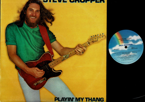 Steve Cropper-Playin' My Thang-VINYL LP-USED-US press-LP_1256