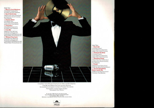 Roger Daltrey-Best Bits-VINYL LP-USED-Aussie press-LP_1257