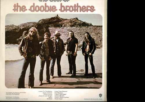 """The Doobie Brothers-""""Listen To The Music"""" - The Best Of The Doobie Brothers-VINYL LP-USED-Aussie press-LP_1258"""