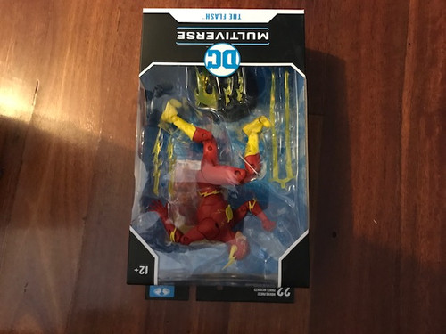 "DC Comics - Wave 03 7"" Rebirth Flash-MCF15125B-MCFARLANE TOYS"