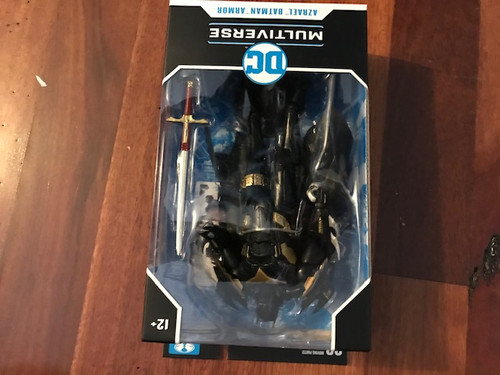 "DC Comics - Wave 03 7"" Batman-White Knight Azbat-MCF15125C-MCFARLANE TOYS"
