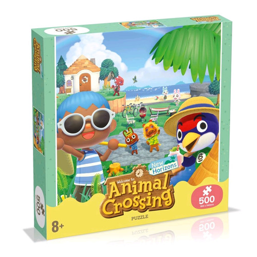 Animal Crossing - Puzzle 500 Piece Jigsaw Puzzle-WINWM00953-WINNING MOVES