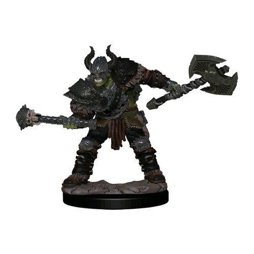 Pathfinder - Half-Orc Barbarian MalePremium Figure-WZK77503-WIZKIDS GAMES