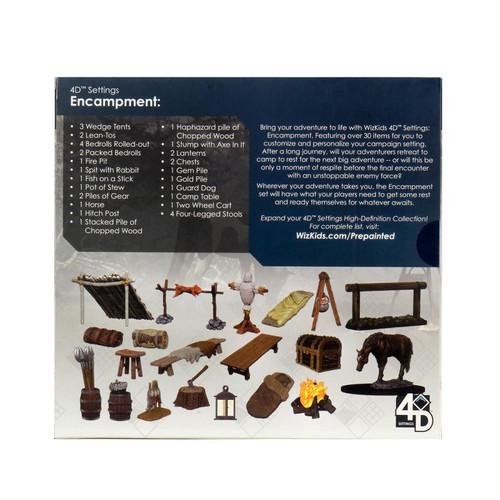 WizKids - Encampment 4D Setting-WZK75000-WIZKIDS GAMES