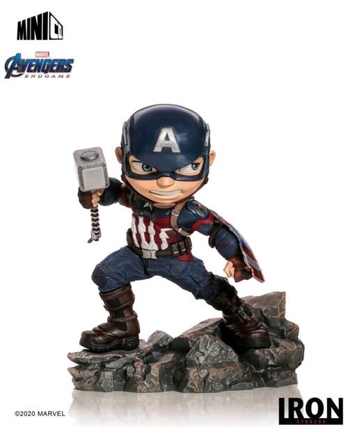 Avengers 4: Endgame - Captain America Minico PVC Figure-IRO15531-IRON STUDIOS