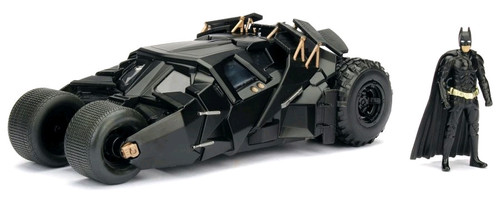 Batman - Batmobile 2005 1:24 w/Batman-JAD98261-JADA TOYS