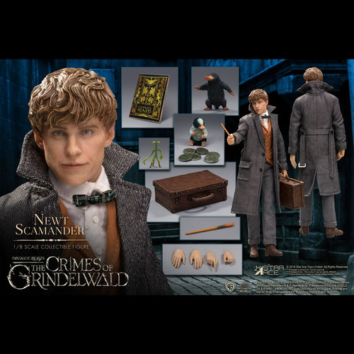 Fantastic Beasts 2: The Crimes of Grindelwald - Newt Scamander 1:8 Scale Action Figure-SATSA8012-STAR ACE TOYS