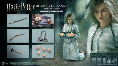 Harry Potter - Bellatrix Lestrange (Prisoner) 1:8 Scale Action Figure-SATSA8016C-STAR ACE TOYS