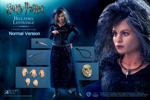 Harry Potter - Bellatrix Lestrange 1:8 Scale Action Figure-SATSA8016A-STAR ACE TOYS