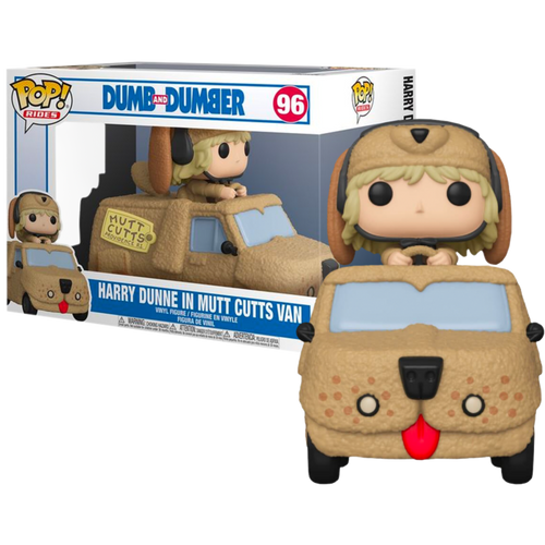 Dumb and Dumber - Harry with Mutt Cutts Van Pop! Ride-FUN51948-FUNKO