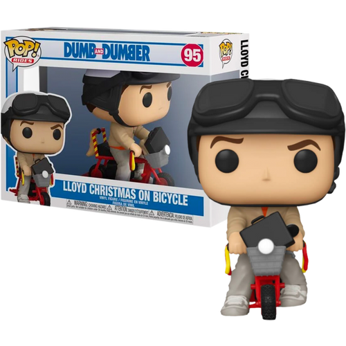 Dumb and Dumber - Lloyd with Bicycle Pop! Ride-FUN51949-FUNKO