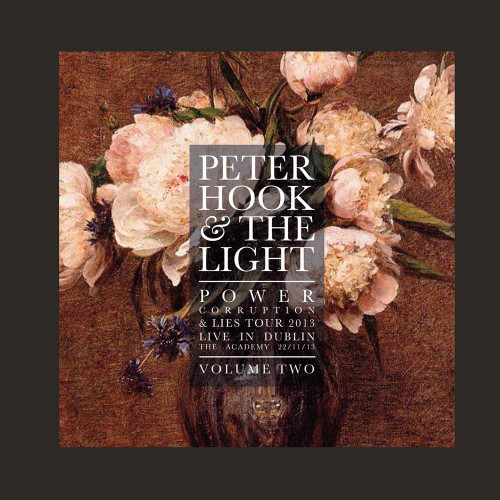 PETER HOOK & THE LIGHT - POWER CORRUPTION AND LIES - LIVE IN DUBLIN VOL. 2 '-Vinyl LP-Brand New-Still Sealed-LETV550LP