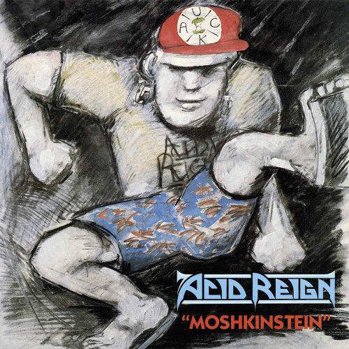 ACID REIGN - MOSHKINSTEIN '-Vinyl LP-Brand New-Still Sealed-BOBV675LP