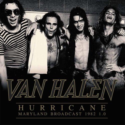 VAN HALEN - HURRICANE - MARYLAND BROADCAST 1982 1.0 '-Vinyl LP-Brand New-Still Sealed-PARA174LP