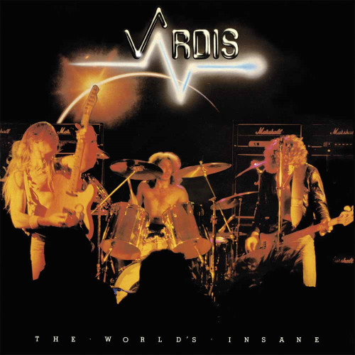 VARDIS - THE WORLDS INSANE '-Vinyl LP-Brand New-Still Sealed-BOBV473LP