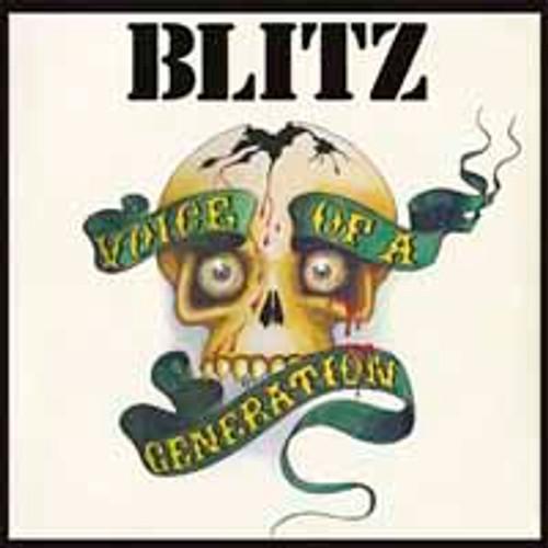 BLITZ - VOICE OF A GENERATION '-Vinyl LP-Brand New-Still Sealed-LETV280LP