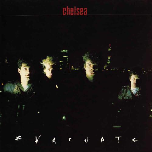 CHELSEA - EVACUATE '-Vinyl LP-Brand New-Still Sealed-LETV403LP