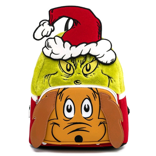 Dr Seuss - The Grinch and Max Mini Backpack-LOUDSSBK0018-LOUNGEFLY