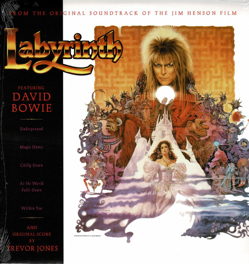 DAVID BOWIE-Labyrinth (Soundtrack) Vinyl LP-Brand New-Still Sealed