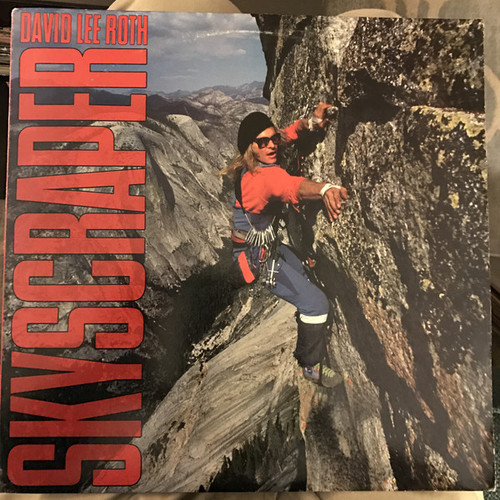 DAVID LEE ROTH-Skyscraper Vinyl LP-Brand New-Still Sealed-SC