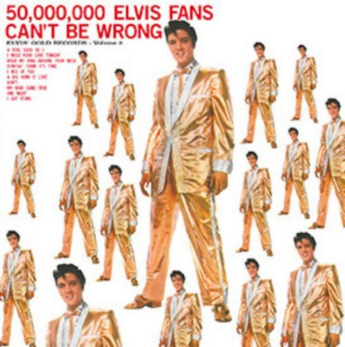 ELVIS PRESLEY  (180 g)-50,000,000 Elvis Fans Can't Be Wrong Vinyl LP-Brand New-Still Sealed
