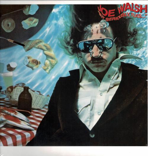 JOE WALSH-But Seriously Folks Vinyl LP-Brand New-Still Sealed-SC
