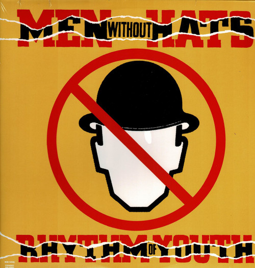 MEN WITHOUT HATS-Rhythm Of Youth (Safety Dance) Vinyl LP-Brand New-Still Sealed-SC