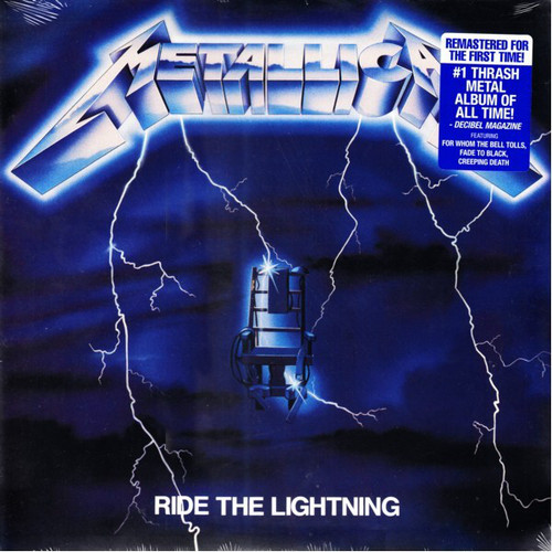 METALLICA-Ride The Lightning (180 g) Vinyl LP-Brand New-Still Sealed