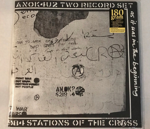 CRASS-Stations Of The Crass (2 LP's) Vinyl LP-Brand New-Still Sealed