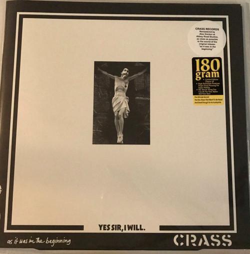 CRASS-Yes Sir I Will Vinyl LP-Brand New-Still Sealed
