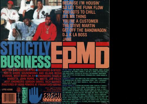 EPMD-Strictly Business Vinyl LP-Brand New-Still Sealed
