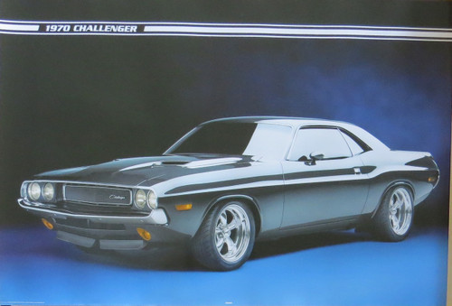 Ford - Challenger-Poster-Laminated available-91cm x 61cm-Brand New