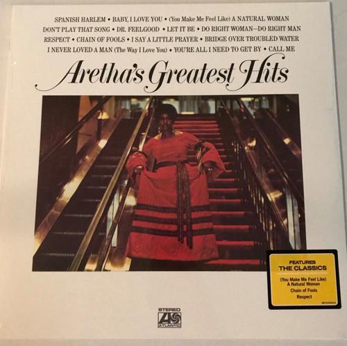 ARETHA FRANKLIN-Greatest Hits Vinyl LP-Brand New-Still Sealed