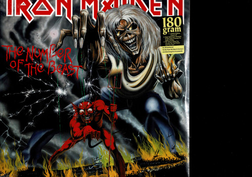IRON MAIDEN-The Number Of Beasts Vinyl LP-Brand New-Still Sealed