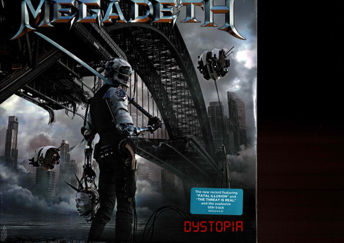 MEGADETH-Dystopia Vinyl LP-Brand New-Still Sealed