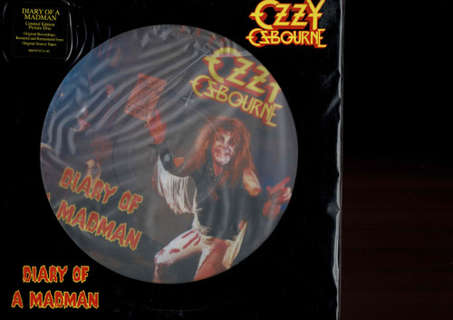 OZZY OSBOURNE-Diary of a Madman (Picture Disc) Vinyl LP-Brand New-Still Sealed