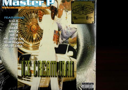MASTER P-The Ice Cream Man (2 LP's) Vinyl LP-Brand New-Still Sealed