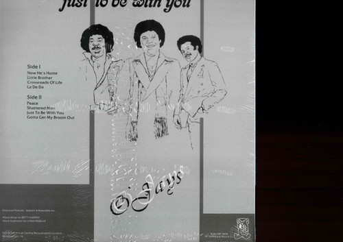 O'JAYS-Just To Be With You Vinyl LP-Brand New-Still Sealed