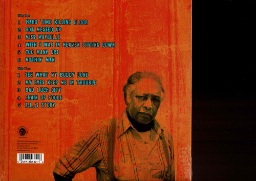 R.L. BURNSIDE-Wish I Was In Heaven Sitting Down (download included) Vinyl LP-Brand New-Still Sealed