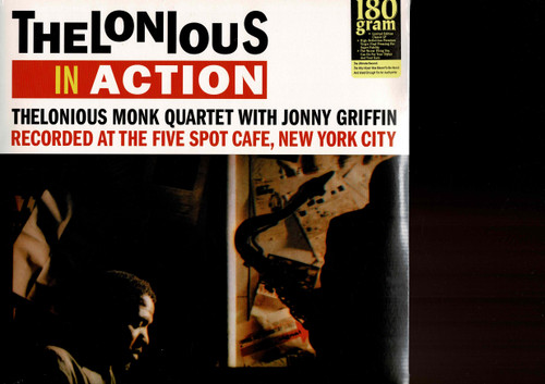 THELONIOUS MONK-Thelonious In Action (180 gram) Vinyl LP-Brand New-Still Sealed