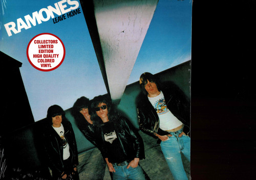 RAMONES-LEAVE HOME (COLORED VINYL) Vinyl LP-Brand New-Still Sealed