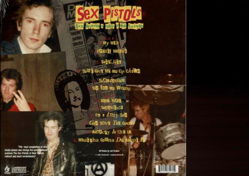 SEX PISTOLS-SEX, ANARCHY & ROCK N' ROLL SWINDLE (180 GRAM) Vinyl LP-Brand New-Still Sealed