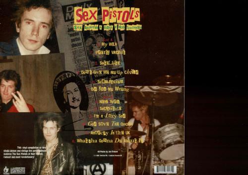 SEX PISTOLS-Sex, Anarchy & Rock n Roll (color) Vinyl LP-Brand New-Still Sealed