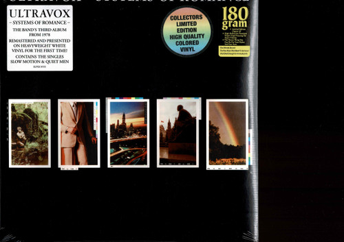 ULTRAVOX-Systems Of Romance (180 gram color) Vinyl LP-Brand New-Still Sealed